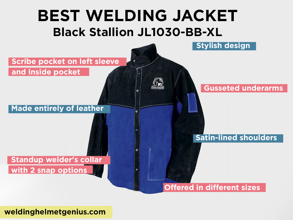 Black Stallion JL1030-BB-XL  Review, Pros and Cons