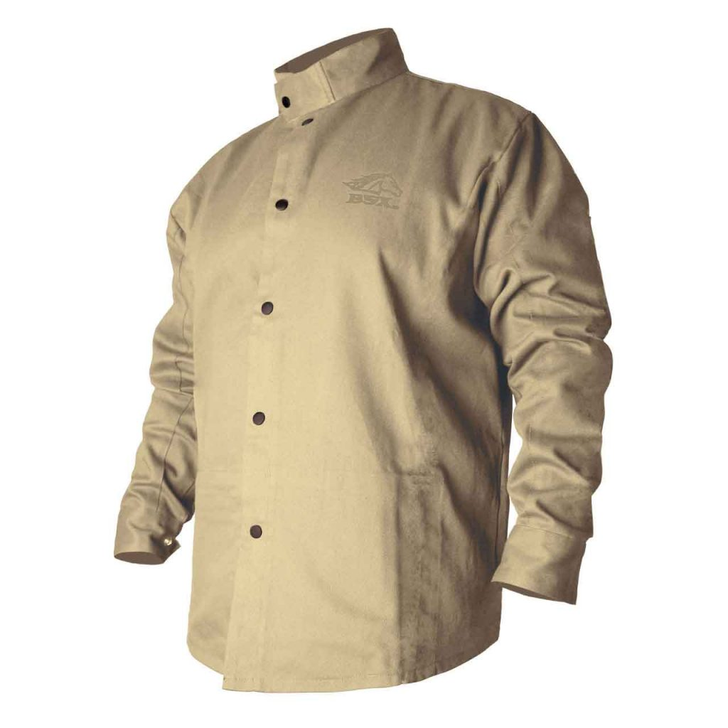 Cotton welding jacket