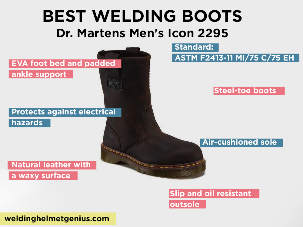 Dr. Martens Men's Icon 2295 Review, pros and Cons