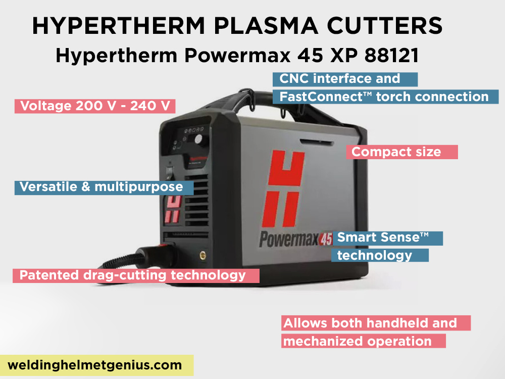 Hypertherm Powermax 45 XP 88121 Review, Pros and Cons