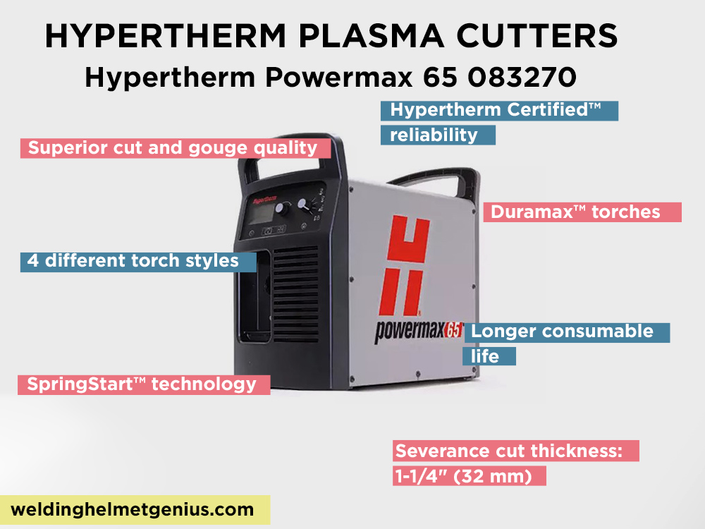 Hypertherm Powermax 65 083270  Review, pros and Cons
