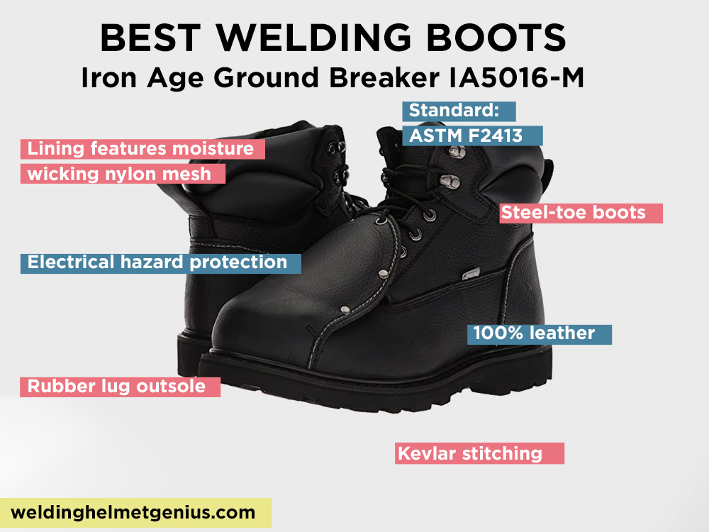 Iron Age Ground Breaker IA5016-M Review, Pros and Cons