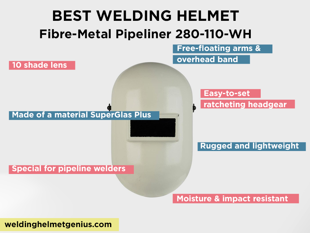 Fibre-Metal Pipeliner 280-110-WH Review, Pros and Cons
